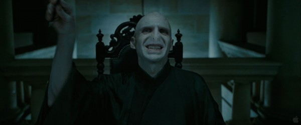 evil Lord Voldemort from Harry Potter and the Deathly Hallows wallpaper
