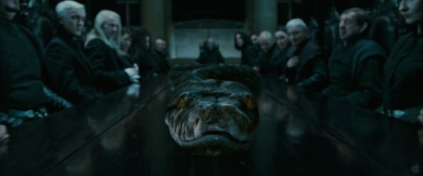Lord Voldemort's snake from Harry Potter and the Deathly Hallows wallpaper