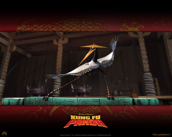 Master Crane from Kung Fu Panda Movie wallpaper
