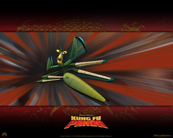 Master Mantis from Kung Fu Panda Movie wallpaper