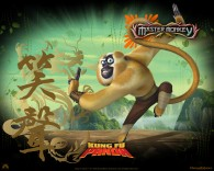Master Monkey from Kung Fu Panda Movie wallpaper