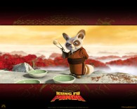 Master Shifu the red panda from Kung Fu Panda Movie wallpaper