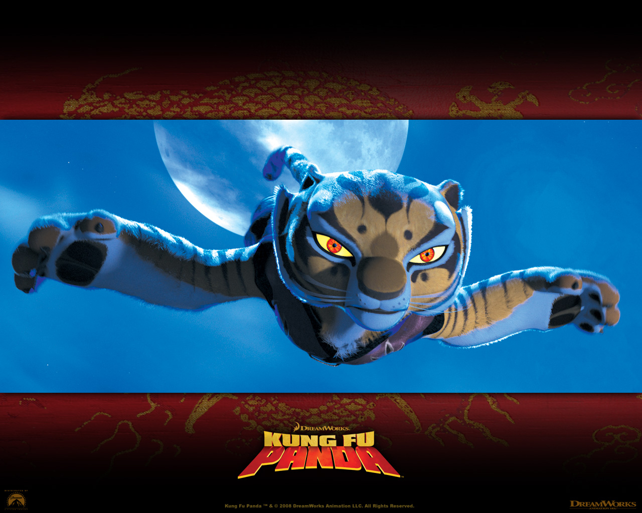 Tigress From Kung Fu Panda Desktop Wallpaper