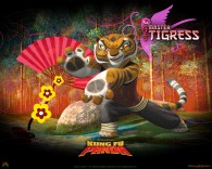 Master Tigress from Kung Fu Panda Movie wallpaper