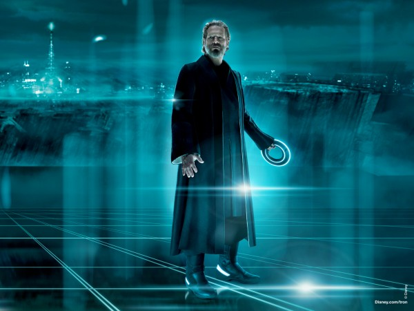 Kevin Flynn from Disney's Tron Legacy movie wallpaper