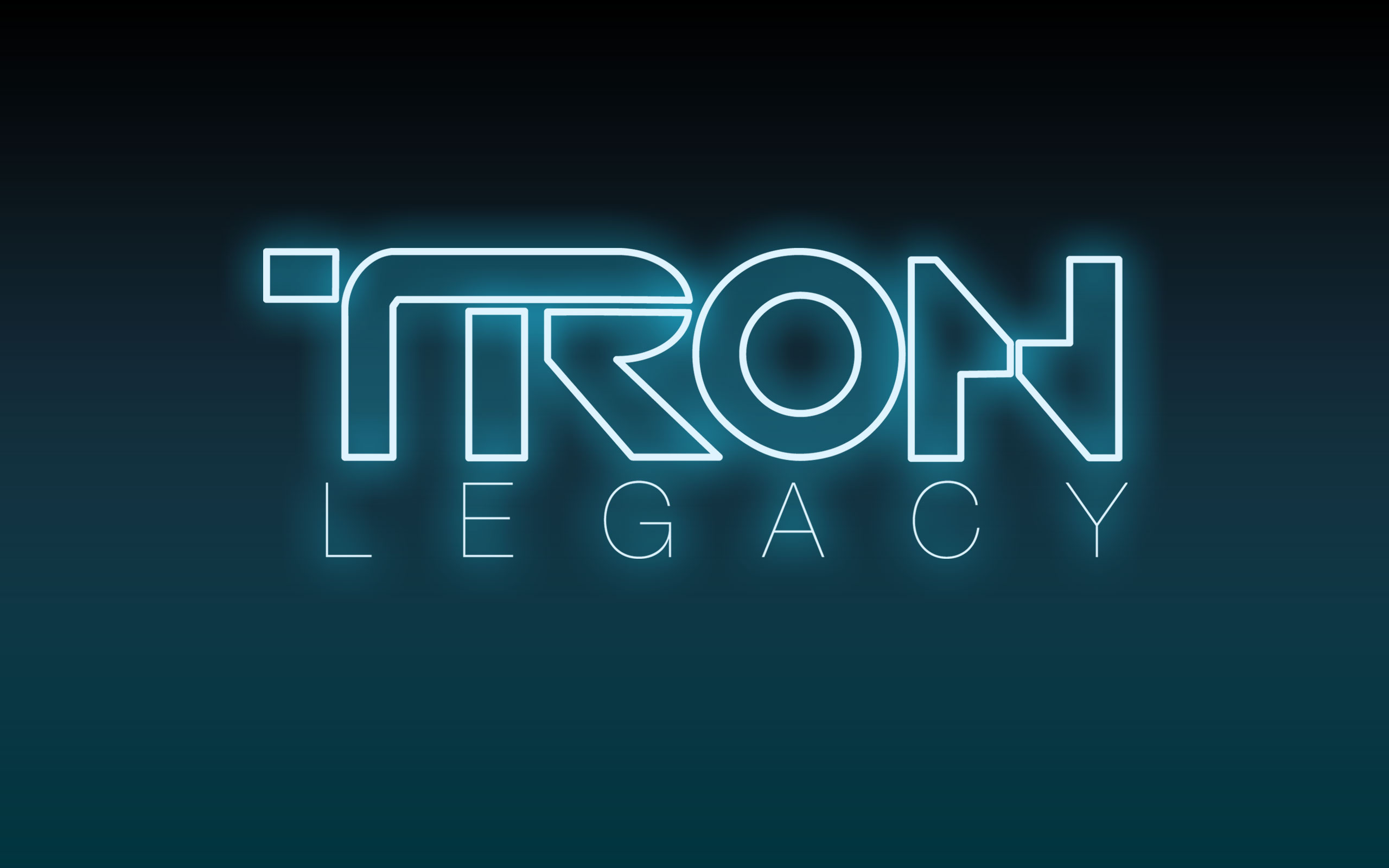 Disney S Tron Legacy Movie Logo Desktop Wallpaper