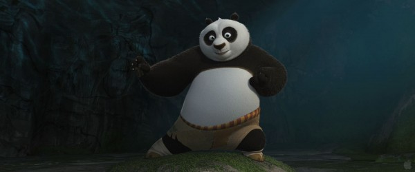 Po the panda from Kung Fu Panda 2 movie wallpaper