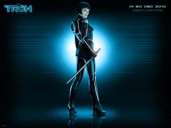 the program Quorra from Disney's Tron Legacy movie wallpaper