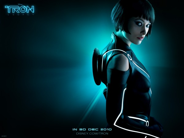 Quorra from Disney's Tron Legacy movie wallpaper