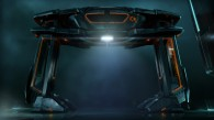 a recognizer vehicle from Disney's Tron Legacy movie wallpaper