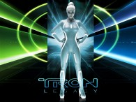 Gem the siren from Disney's Tron Legacy movie wallpaper