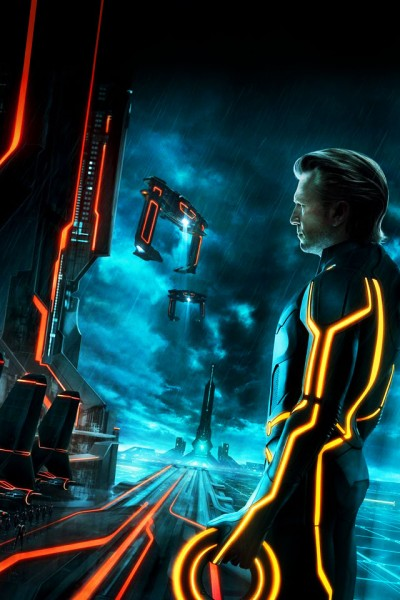 the program Clu from Disney's Tron Legacy movie wallpaper