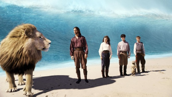 Aslan the lion from the Chronicles of Narnia voyage of the Dawn Treader wallpaper
