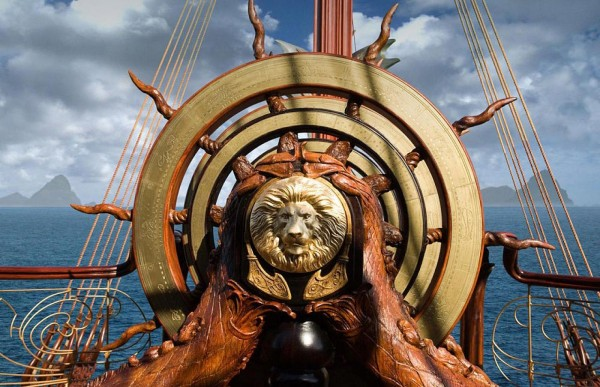 The Dawn Treader from the Chronicles of Narnia wallpaper