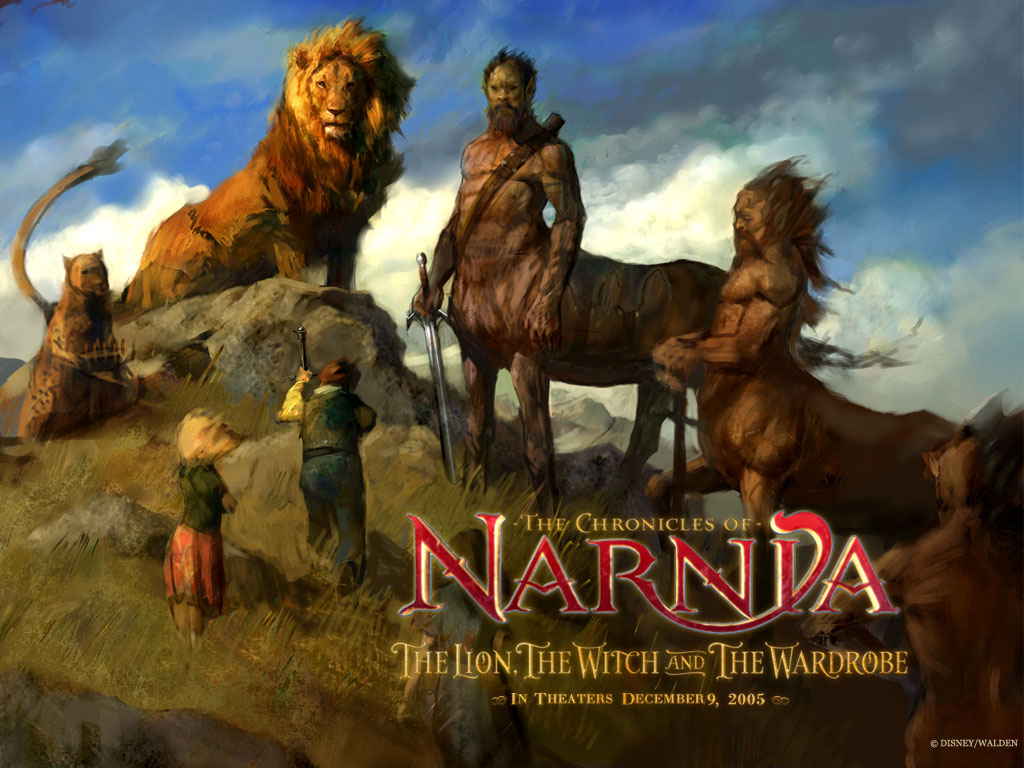 Aslan and Creatures from The Chronicles of Narnia Desktop Wallpaper for Narnia Aslan Wallpaper  45hul