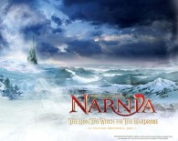 winter scene from the Chronicles of Narnia wallpaper