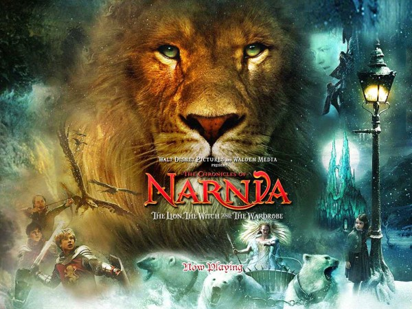 The Lion the Witch and the Wardrobe from the Chronicles of Narnia wallpaper