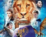 The Voyage of the Dawn Treader from the Chronicles of Narnia wallpaper