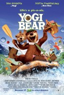 poster for the Yogi Bear movie featuring Yogi and Boo Boo in a raft wallpaper