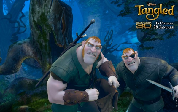 the Stabbington Brothers from Disney's animated movie Tangled wallpaper