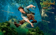 Flynn Rider from Disney's animated movie Tangled wallpaper