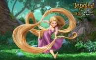 Rapunzel from Disney's animated movie Tangled wallpaper