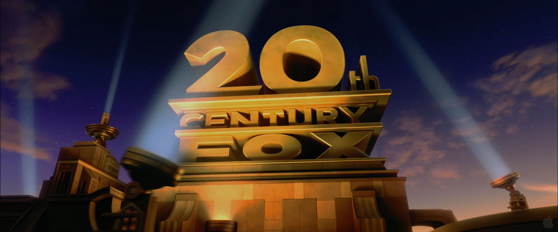 20th Century Fox Movie Studios Logo Desktop Wallpaper