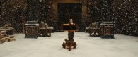 Lucy in a room where it's snowing in the Chronicles of Narnia Voyage of the Dawn Treader wallpaper