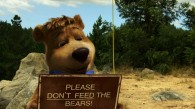 Boo Boo the bear from the live action Yogi Bear movie wallpaper