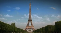 the Eiffel Tower in Paris, France wallpaper