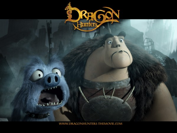 Lian Chu and Hector from the CG animated movie Dragon Hunters wallpaper