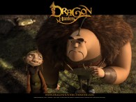 Lian Chu and Gwizdo from the CG animated movie Dragon Hunters wallpaper