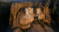 aerial view of Mt. Rushmore wallpaper