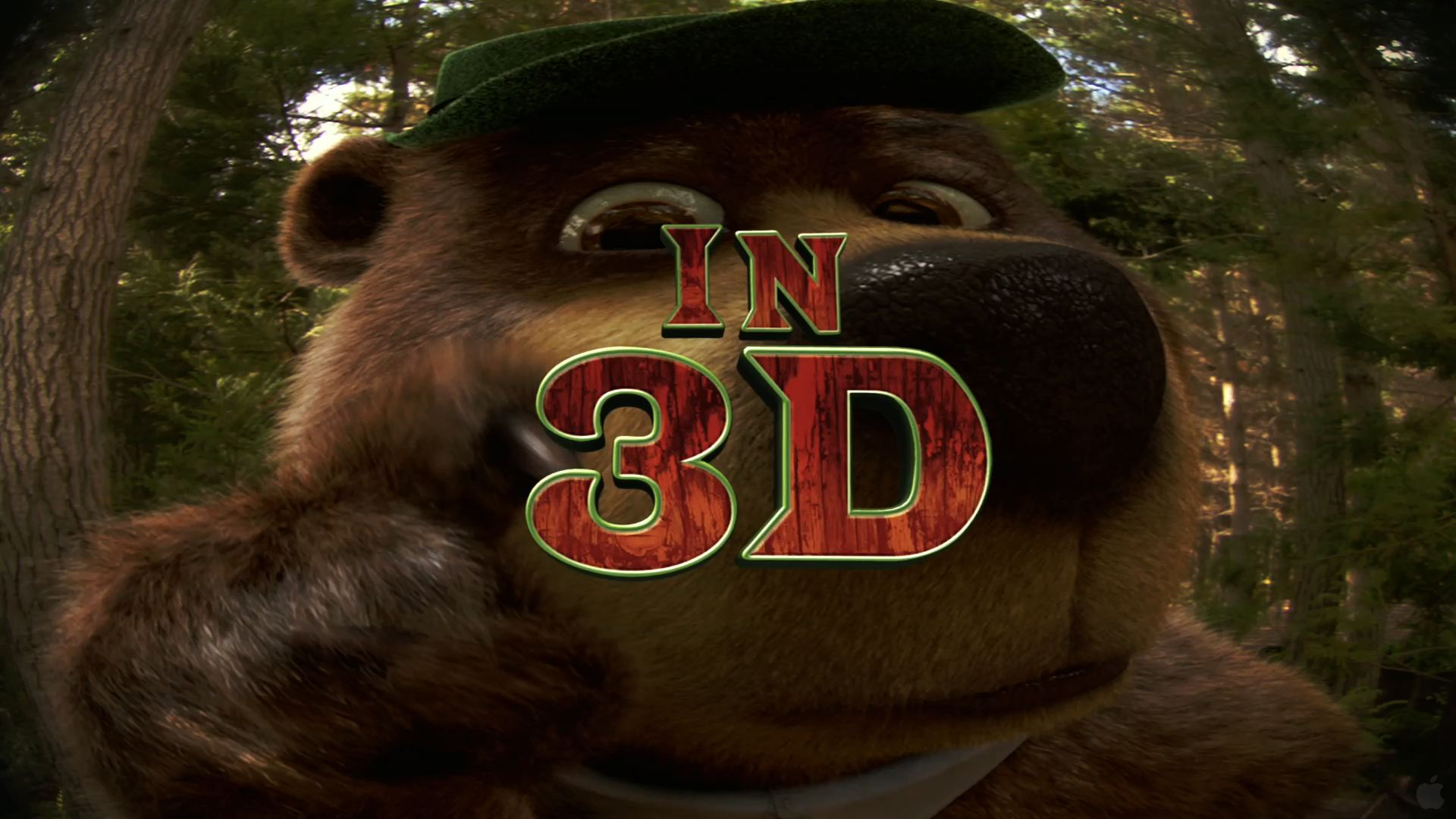 Yogi Bear From The Live Action Movie Wallpaper