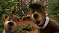Yogi Bear and Boo Boo bear from the live action Yogi Bear movie wallpaper