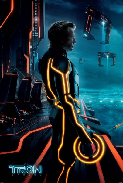 The program Clu from Disney's Tron Legacy wallpaper