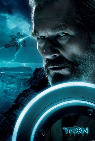 Kevin Flynn from Disney's Tron Legacy wallpaper