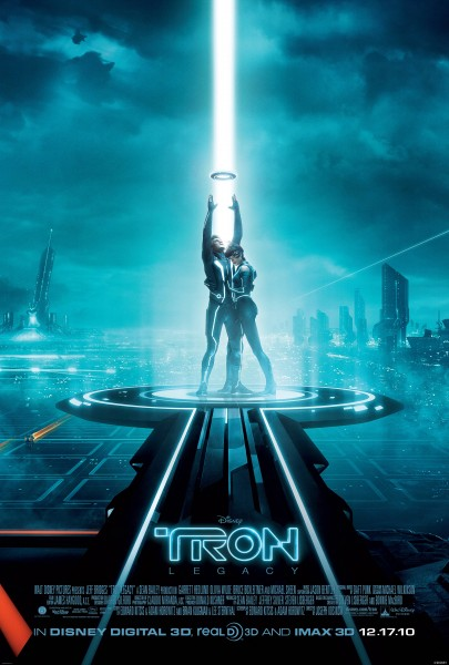 Movie poster from Disney's Tron Legacy wallpaper