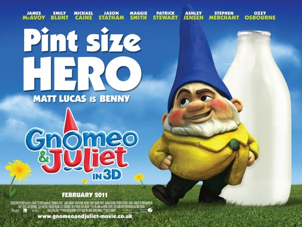 Benny the lawn gnome from Disney's movie Gnomeo and Juliet Wallpaper
