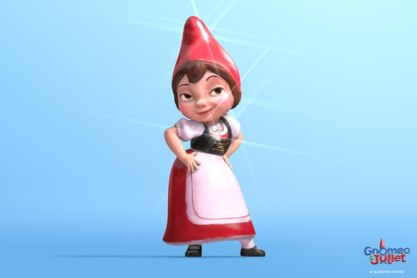 Juliet from the Disney Movie Gnomeo and Juliet wallpaper