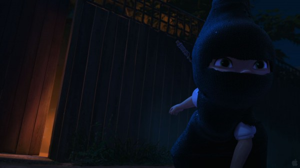Juliet in ninja disguise from Disney's Gnomeo and Juliet movie wallpaper