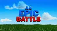 text that reads An Epic Battle from Disney's Gnomeo and Juliet movie wallpaper