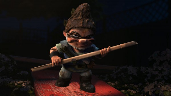 Gnomeo ready to fight from Disney's Gnomeo and Juliet movie wallpaper