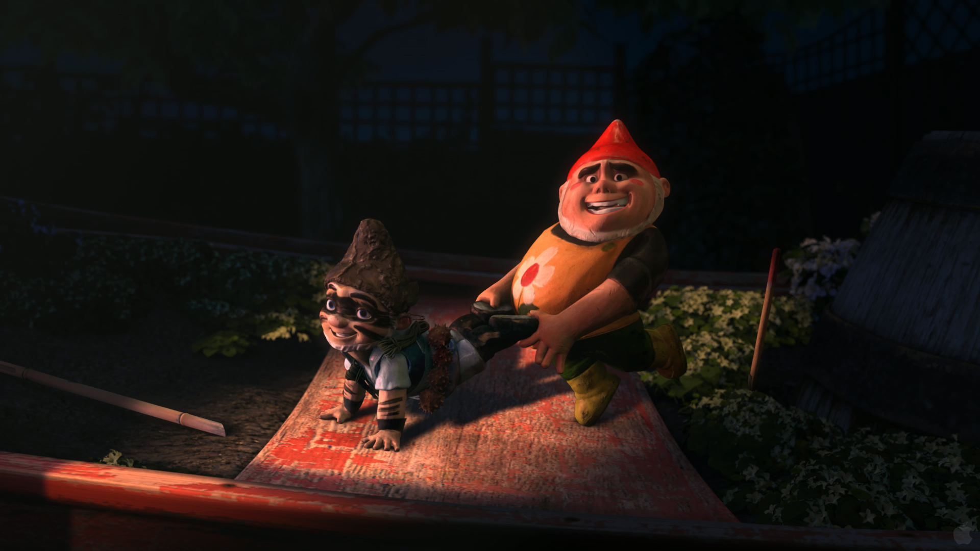 Gnomeo And Tybalt From Juliet Wallpaper