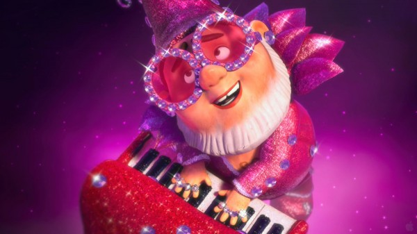 Elton John lawn/garden gnome from Disney's Gnomeo and Juliet movie wallpaper