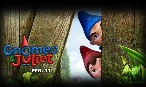 Gnomeo and Juliet the garden gnomes from Disney's movie Gnomeo and Juliet Wallpaper