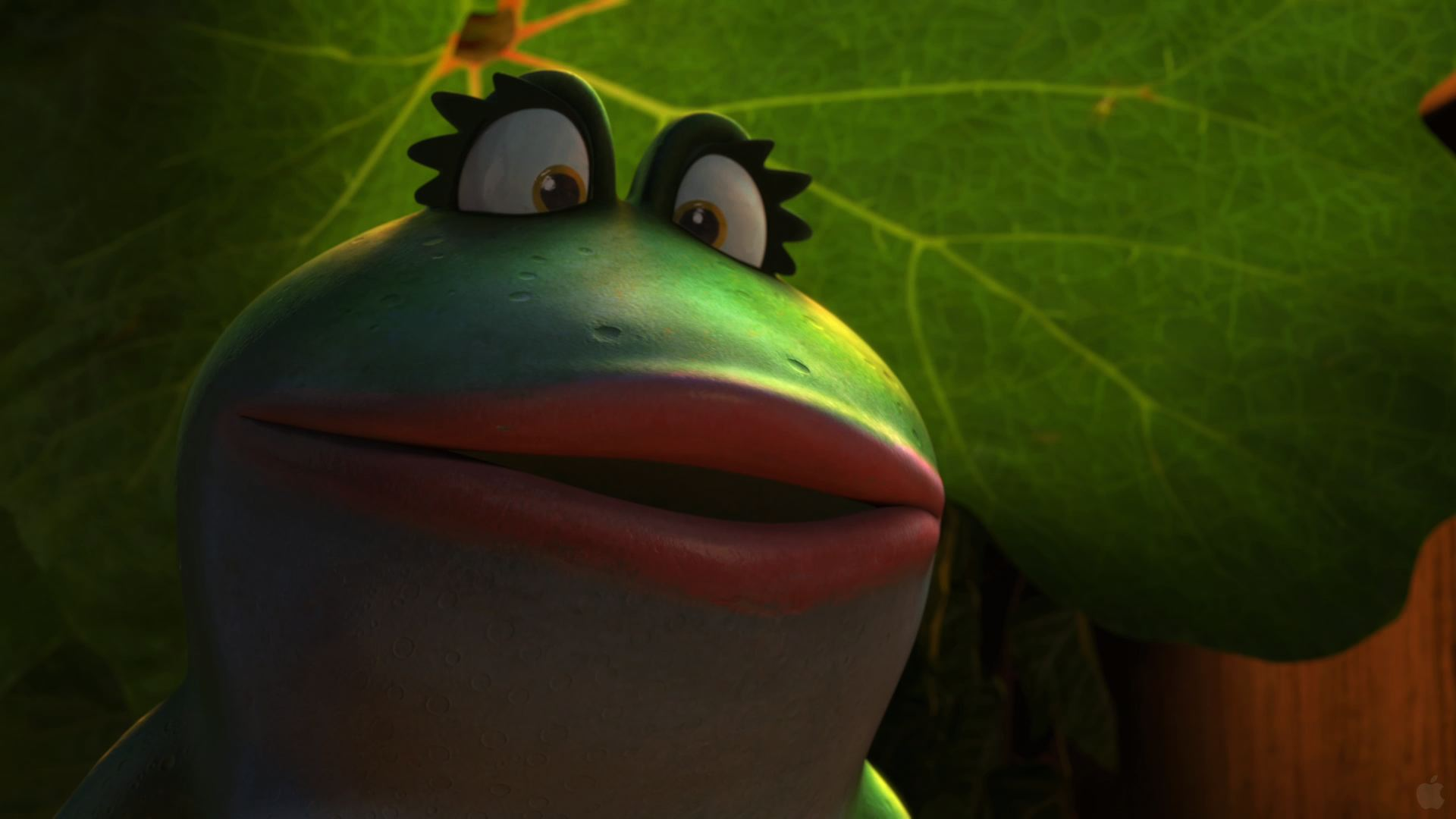 nanette the frog from gnomeo and juliet movie desktop wallpaper