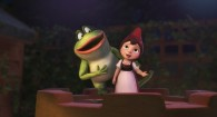 Nanette the frog and Juliet from Disney's movie Gnomeo and Juliet Wallpaper