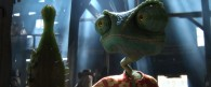 Rango at the bar from the movie Rango wallpaper