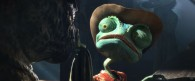 Rango the chameleon from the movie Rango wallpaper